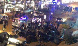 3 قتلى و7 جرحى نتيجة تصادم بين 6 مركبات على اوتوستراد الاسد