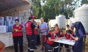 سفير هولندا اطلع على أوضاع اللاجئين السوريين في عكار