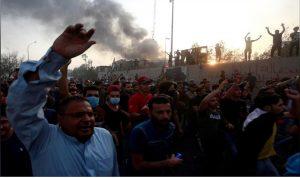 الاحتجاجات تتجدد في البصرة وتنتقل إلى بغداد
