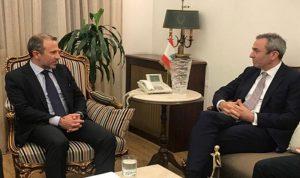 العلاقات اللبنانية – البريطانية بين باسيل وسفير بريطانيا