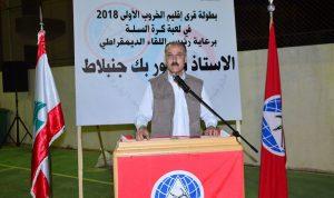 عبدالله مناشدا: للتعويض على أهالي الشوف