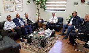 عبدالله تابع مشاريع إنمائية في الإقليم
