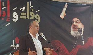 بالصور: بو عاصي ونصرالله في زحلة