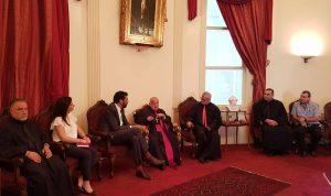 بو جودة يلتقي قنصل فرنسا العام في لبنان