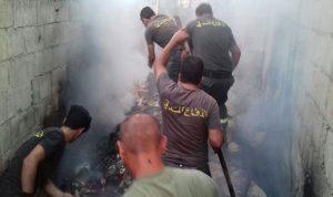 الدفاع المدني يمنع حصول كارثة في عكار