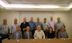 انتخاب رئيس وأعضاء مجلس ادارة الاتحاد الوطنية للجمعيات التعاونية