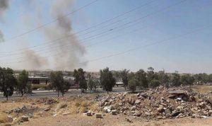 إيران تقصف الحزب الديمقراطي الكردستاني في أربيل