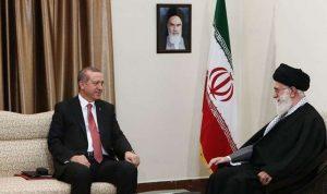أردوغان التقى خامنئي في طهران