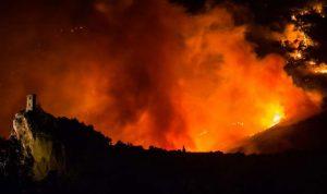 حريق في ضهر نصار مشحا