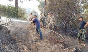 تجدّد حريق جبل حلبا