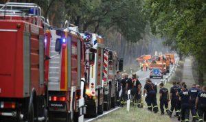 حريق هائل في ألمانيا… والسبب اختبار صاروخي للجيش