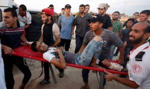 مواجهات في غزة… عشرات الجرحى برصاص الجيش الإسرائيلي