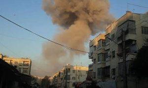 انفجارات في حي الحمدانية في حلب