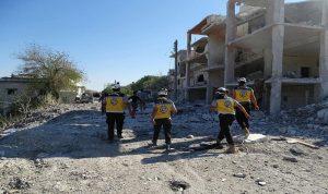 النظام يقصف إدلب والمعارضة تفجّر جسراً