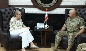 قائد الجيش بحث معكاردلالأوضاع العامة