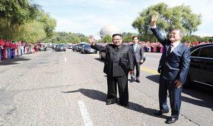 بيونغ يانغ تستقبل بحرارة رئيس كوريا الجنوبية