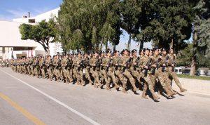 الفتاة اللبنانية تنخرط بقوة في الجيش