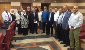 حمادة يكشف عن مشروع قانون مباراة للمتعاقدين
