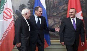 لقاء ثلاثي روسي إيراني تركي عن سوريا في نيويورك