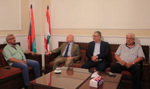 """سعد بحث مع مدير """"الأونروا"""" في الوضع المالي للوكالة"""