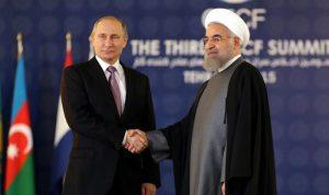 اتصال بين بوتين وروحاني… ماذا دار بينهما؟