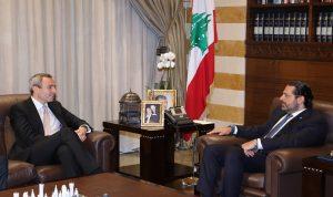 السفير البريطاني من بيت الوسط: لمواصلة العمل مع الحريري