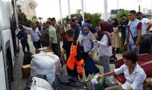 العودة الطوعية لـ 427 نازحا سوريا