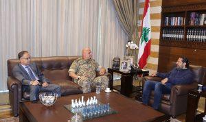 الحريري عرض مع قائد الجيش الأوضاع الأمنية