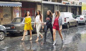 """مسلسل لبناني يجذب بالصورة: أربع بنات وبس في """"بيروت سيتي"""""""