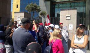 إعتصام للمتعاقدين الثانويين أمام وزارة التربية