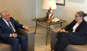 سليمان استقبل كاردل: تحصين لبنان يبدأ باستراتيجية دفاعية