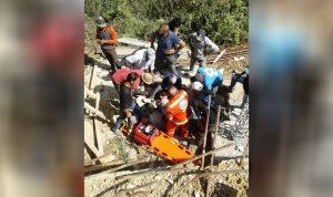 إصابة عامل سوري بجروح أثناء عمله في الضنية