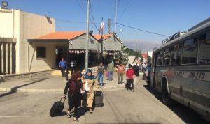 إنطلاق دفعة من النازحين السوريين من طرابلس