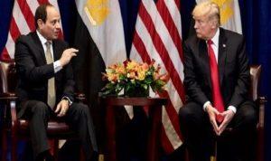 """ترامب يتصل بالسيسي بشأن """"سد النهضة"""".. وإثيوبيا: القاهرة تحاول السيطرة على النيل"""