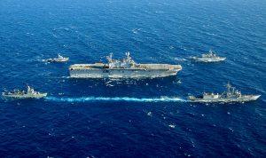 بالفيديو: البحرية الأميركية في المتوسط!