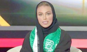 للمرة الأولى… مذيعة على القناة السعودية الرسمية!