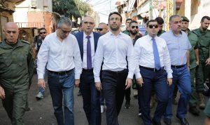 شبيب ومكاوي أشرفا على إزالة المخالفات بين بلدية بيروت والغبيري