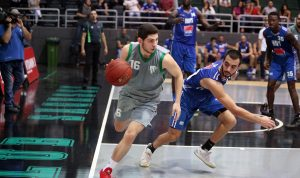 بداية قوية للحكمة في إنطلاق دوري كرة السلة