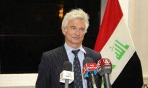 تسمم سفير الاتحاد الأوروبي لدى العراق بالمياه