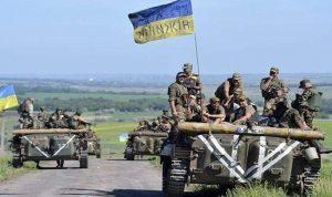 إسقاط طائرة مسيرة تابعة للقوات الأوكرانية في لوغانسك