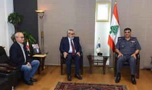 عثمان استقبل بقرادونيان ورئيس بلدية برج حمود