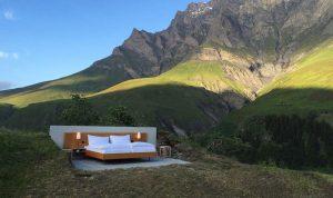 """بالصور: في سويسرا… فندق في """"الهواء الطلق""""!"""