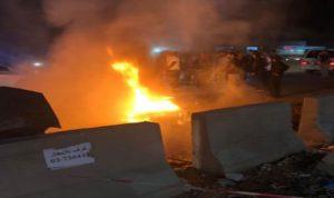 قتل محروقاً على دراجته النارية… بعد اصطدامه بسيارة في جبيل