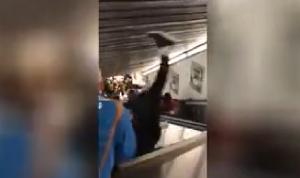 15 جريحًا بانهيار درج متحرك في مترو روما