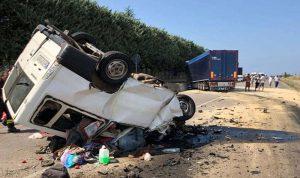 مقتل 22 شخصا في تدهور شاحنة تقل مهاجرين في تركيا
