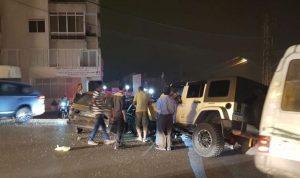 أربعة جرحى بحادث سير في عجلتون