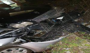 جريحان اثر حادث سير في صور