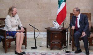 عون:لبنان سيواجه أي اعتداء اسرائيلي ضد سيادته
