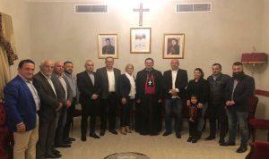 الأحزاب اللبنانية تتضامن مع راعي الأبرشية المارونية في استراليا