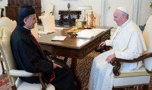 البابا عرض والراعي الأوضاع في لبنان والمنطقة